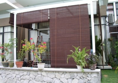 Outdoor Wooden Blinds 4