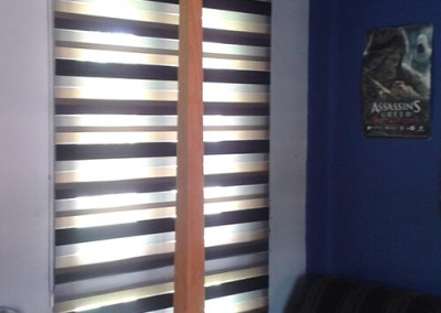 Zebra Blinds 3 Tone Fabric 1